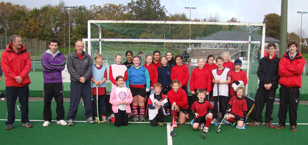 U10 boys and U12 purples at games day December 2013