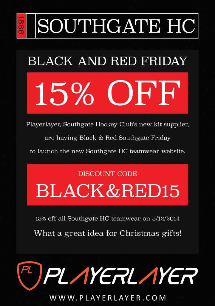 Black and Red Friday Flyer