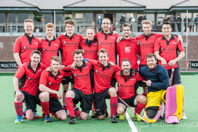 Southgate M2s. Southgate M2 v Brooklands M2  - Men's 2nd XI Cup Semi Final, Trent Park, London, UK on 05 March 2017. Photo: Simon Parker